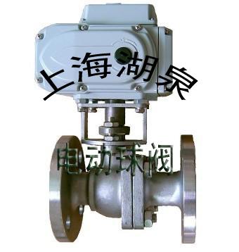 在管道中一般应当水平安装。在我国,球阀被广泛的应用在石油炼制、长输管线、化工、造纸、制药、水利、电力、市政、钢铁等行业,在国民经济中占有举足轻重的地位。 电动球阀介绍  电动球阀是工业自动化控制系统中的重要执行机构。电动球阀是根据阀瓣的这种移动形式绕阀杆的轴线作旋转运动的阀门。阀座通口的变化是与阀瓣行程成正比例关系。主要用于截断或接通管路中的介质,亦可用于流体的调节与控制,是工业自动化过程控制的一种管道压元件。电动球阀种类有:浮动球球阀、固定球球阀、轨道球阀、V型球阀、三通球阀、不锈钢球阀、锻钢球阀、卸灰